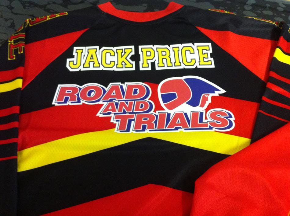 Motorcross Shirt Printing
