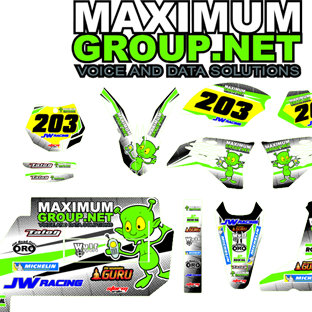 Maximum Group Side Cars White