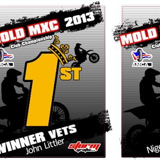 Mold MXC Trophy Plates