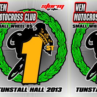 WEM Motocross Trophy Plates