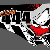 Classic Rider 444 SWM 2012 Graphics Kit