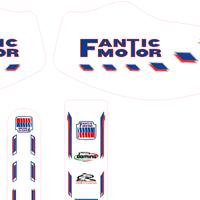 Fantic 200 Retro Kit