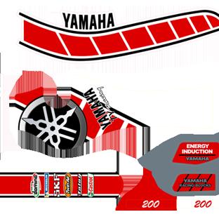 Yamaha TY 200 Decal Kit