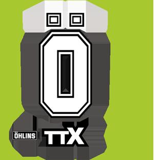 Ohlins TTX Fork Decals